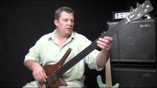 Warwick Product Specialist Andy Irvine Bass Demo - Dolphin Pro Fretless