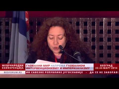 ZEYNEP BESPINAR (TURKEY, WPC) - (Global Peace vs. Global Interventionism and Imperialism)