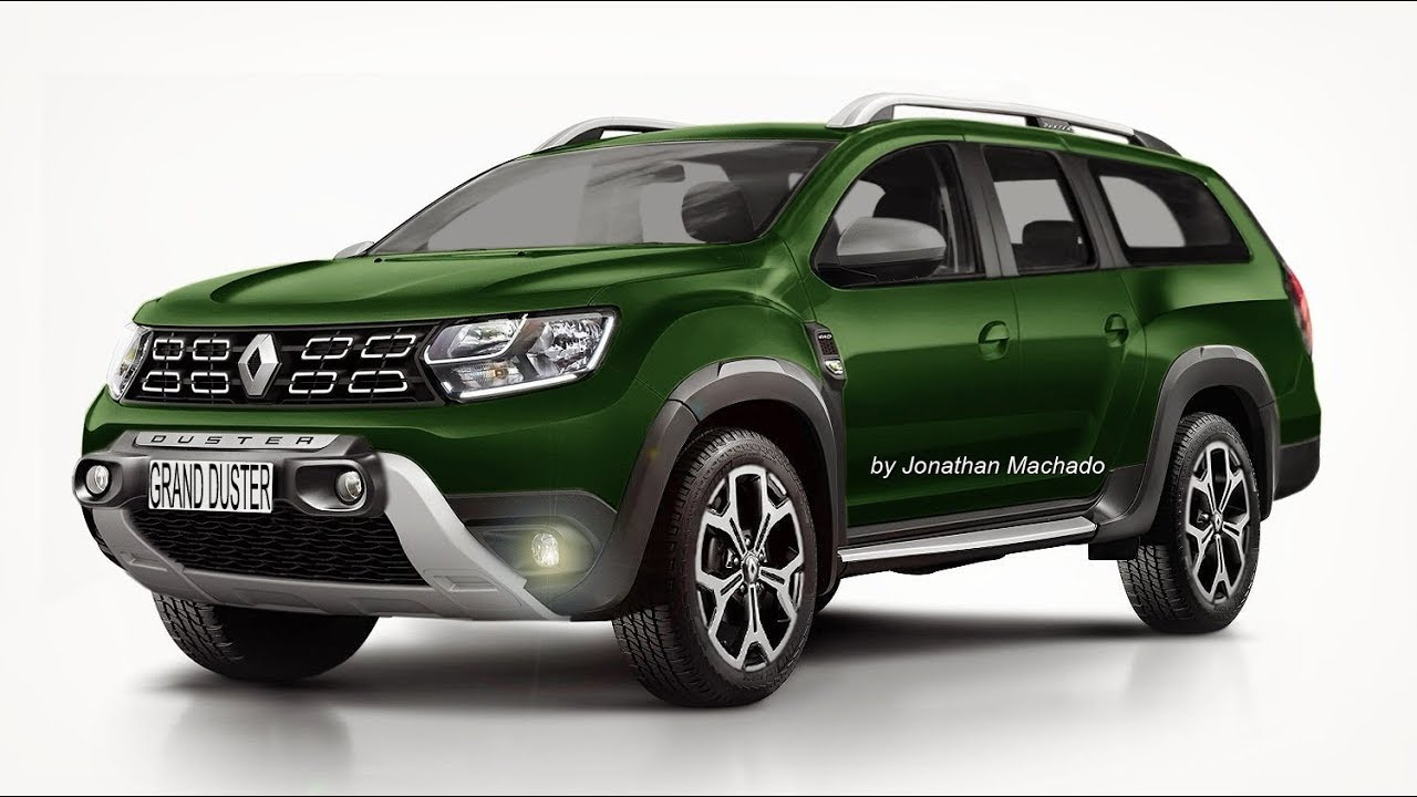 render nova renault grand duster 7 lugares 7 seater