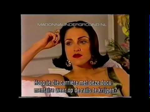 Madonna Truth Or Dare promo interview with Rene Mioch for Dutch TV in 1991