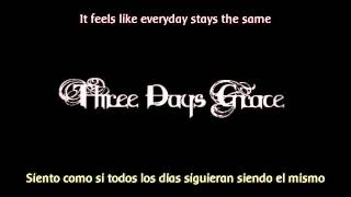 Three days grace  - Over and over (Ingles_Español)