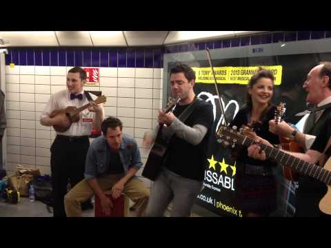 Behind the Scenes: Once the Musical Busking - Leicester Square Tube, 2013 - ATG Tickets