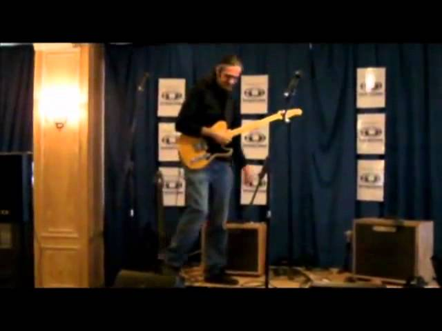 MARCELLO ZAPPATORE at Second Hand Guitars 34 in MILAN with ARTESOUND