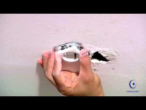Como instalar un ganchufo para colgar una l mpara youtube - Lamparas de colgar ...