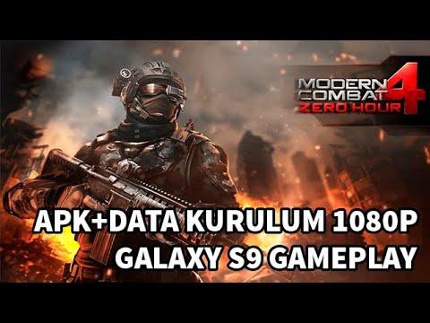 Modern Combat 4 Zero Hour Apk Data Kurulum Samsung Galaxy S9 Gameplay Download Link Youtube
