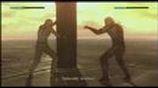 MGS4 - Solid Snake vs liquid Ocelot