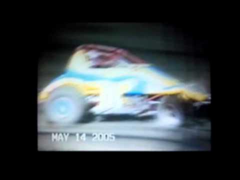 Jimmy Steward flip at Marysville Raceway Park