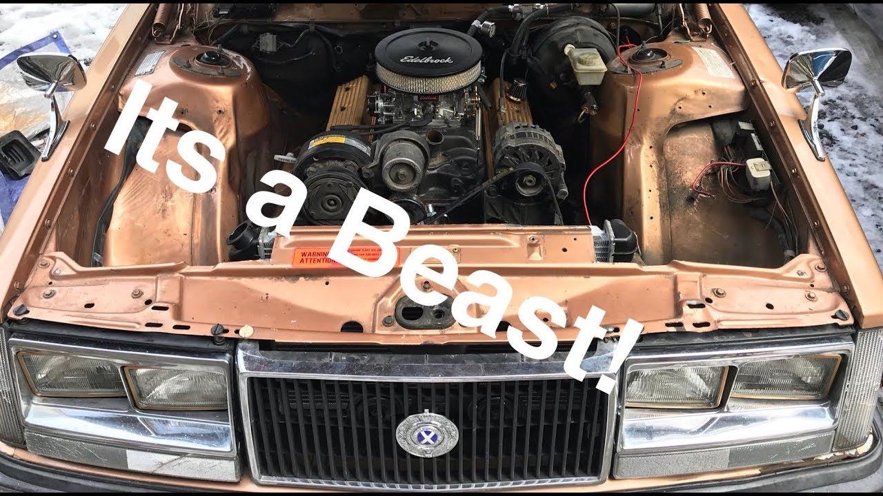 VOLVO V8 SWAP - Motor Install