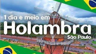 HOLAMBRA SP: CIDADE DAS FLORES EM 1 DIA E MEIO | DICAS | 2019