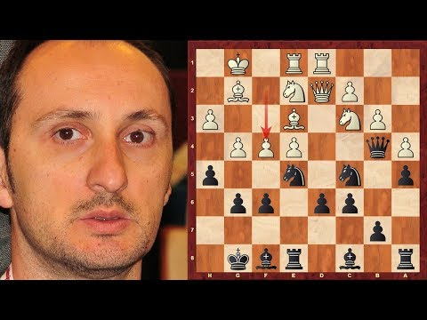 Veselin Topalov Amazing Immortal Game! vs Andrei Kharlov - FIDE WC (2004) - Bishop's Opening