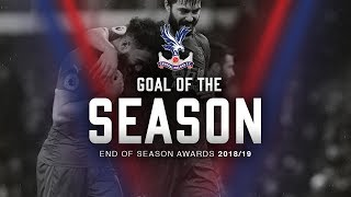 VOTE NOW!! Crystal Palace FC Goal of the Season 2018/19
