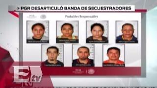 Detienen a banda de secuestradores en el Distrito Federal / Todo México