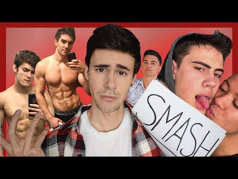 SMASH OR PASS WITH GAY YOUTUBERS!!