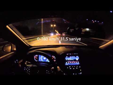 2015 Opel Insignia 1.6 Cdti 136 Hp 0-200 Km/h Hızlanma (Acceleration)