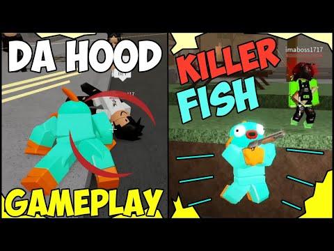 I BECAME A KILLER FISH IN DA HOOD AND GOT EVERYONE MAD!