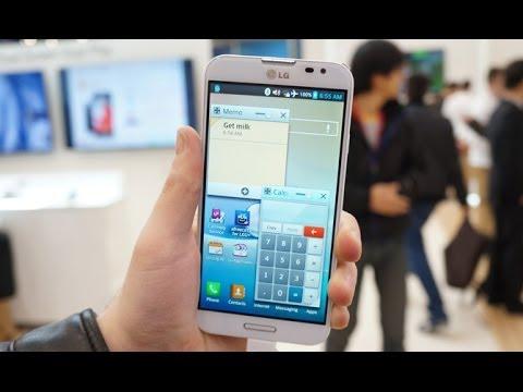 LG G Pro 2 Hands-on: Korean version