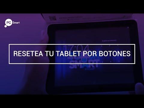 Resetea tu tableta Touchsmart PC Smart por botones.