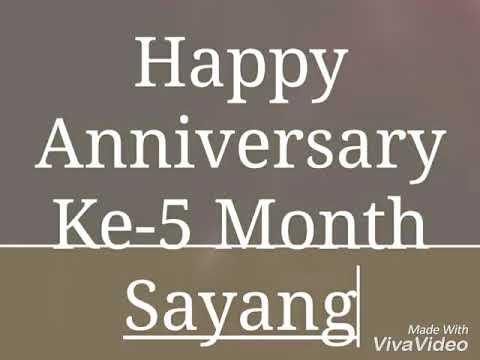 Happy Anniversary 5 Month Youtube