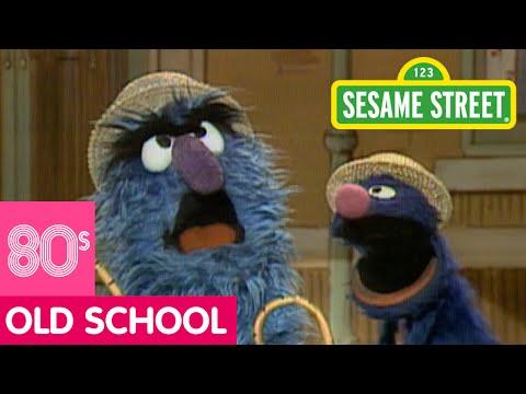 Sesame Street: Fuzzy And Blue