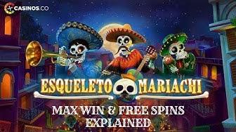 Esqueleto Mariachi Slot Review- Big Win & Bonuses