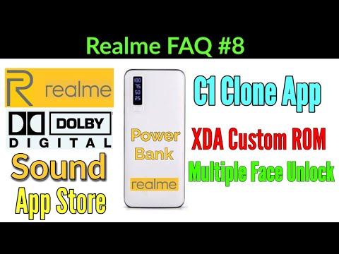 Realme Power Bank, Dolby Digital Sound, XDA Custom ROM, Realme App Store |  Realme FAQ Episode 8 ATB