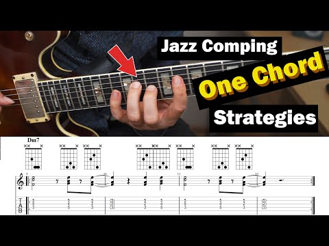 How To Sound Great On A m7 Static Chord - Modal Comping
