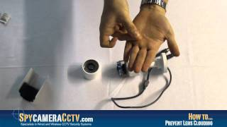 How to Prevent your CCTV Camera Lens from Clouding