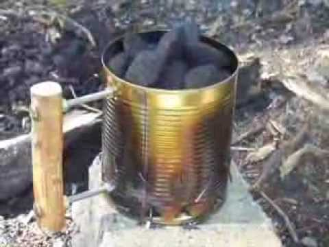 How To Use A Charcoal Chimney Starter Youtube