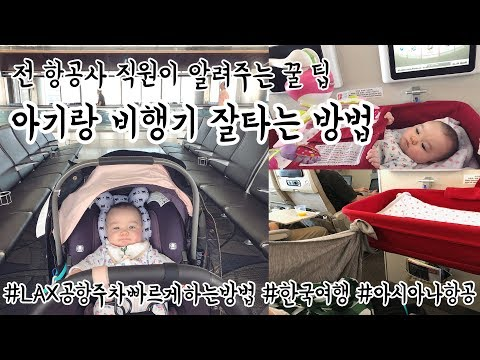 전 아시아나항공사 직원이 알려주는 아기랑 비행기 타는 꿀팁/LAX공항/아시아나항공A380