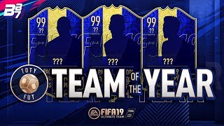 OFFICIAL TEAM OF THE YEAR (TOTY) VOTE RESULT! | FIFA 19 ULTIMATE TEAM