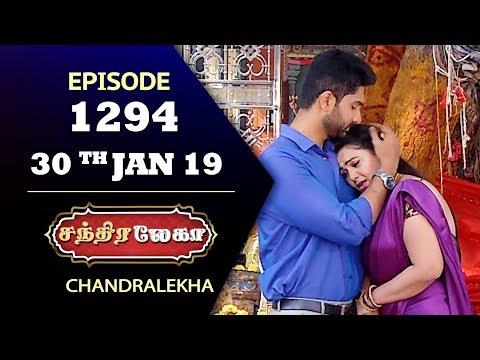 CHANDRALEKHA Serial | Episode 1294 | 30th Jan 2019 | Shwetha | Dhanush | Saregama TVShows Tamil
