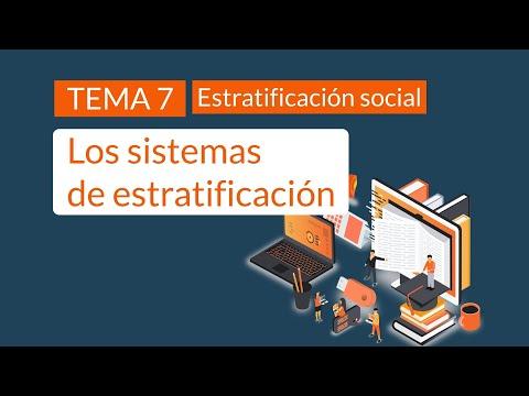 Los sistemas de estratificación social