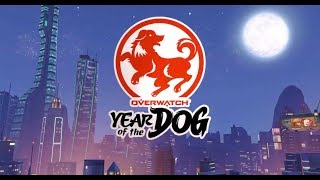 YEAR OF THE GOOD BOY | Year of the Dog Event and NEW SKINS! | Overwatch Gameplay - PC