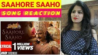 Saahore Saaho Song Reaction Kurukshetra Darshan BollyReacts
