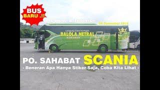 Gambar cover Bus TerBARU PO. SAHABAT aka BALOLA NETRAL Merak - Cirebon PP | Bismania