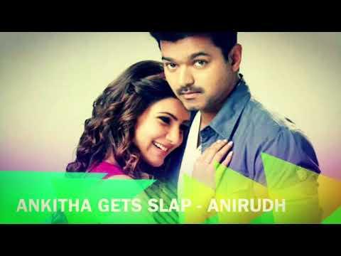 Ankitha Gets Slap | kaththi bgm