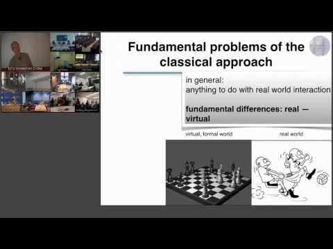 ShanghAI Lectures 2014 – Lecture 2: The need for an embodied perspective on intelligence