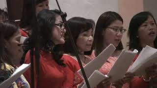 1 24 2018 Vietnamese Vesions Choir Teresa  The Solemnity of Christ the King Cecilia Tustin