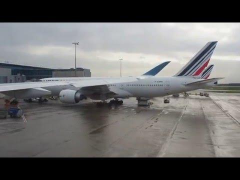 Flight of Vietnam's Airbus 350-900, Paris CDG to Ho Chi Minh City SGN