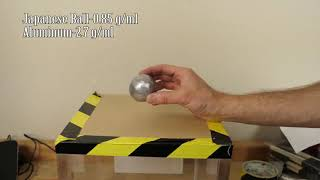Mirror Polished Japanese Foil Ball Challenge Crushed in a Hydraulic Press What's Inside dsfds fg