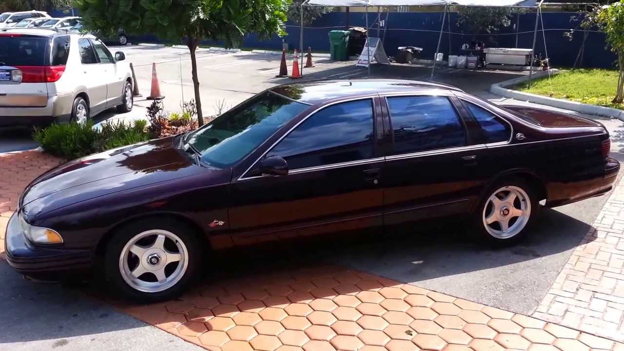 Impala 1990 chevrolet impala : 1995 Chevrolet IMPALA SS For Sale @ Karconnectioninc.com Miami, FL ...