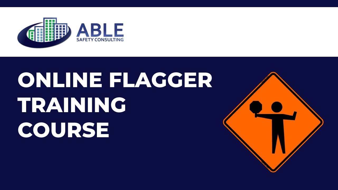 Work Zone Flagger Course Online