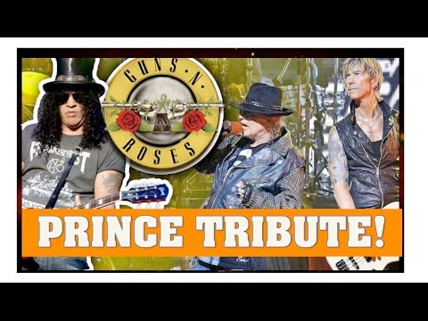 Guns N' Roses 2016 Coachella Prince Purple Rain Tribute (Slash) & Alternate Songs