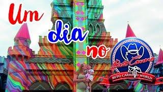 Vlog: Um dia no Beto Carrero World (dia1)