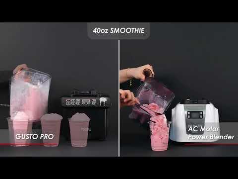 Bianco di puro Commercial Gusto pro Comparison by Vedec