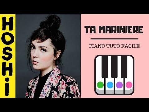HOSHI - TA MARINIERE - PIANO TUTO FACILE