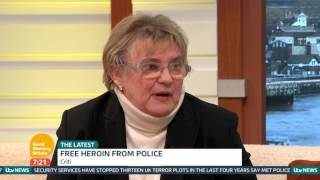 Free Heroin From Police | Good Morning Britain