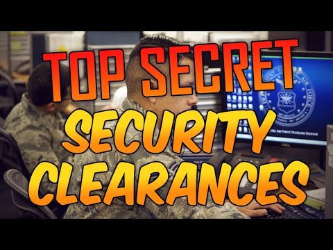 Security Clearances / United States Air Force