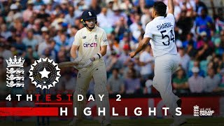 Pope Classy But India Fightback!   England v India - Day 2 Highlights   4th LV= Insurance Test 2021