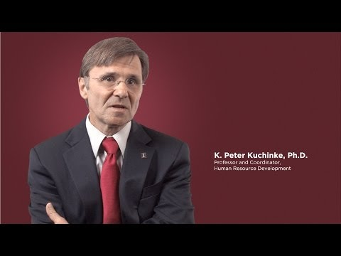 K. Peter Kuchinke, Faculty Member, College of Education at Illinois
